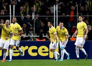 Fenerbahçe-Göztepe karşılaşmasından kareler