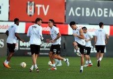 Beşiktaş, Sarpsborg maçı hazırlıklarını sürdürdü