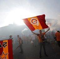 Galatasaray Türk Telekom Stadında şampiyonluğunu kutluyor (CANLI)
