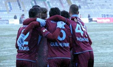 Trabzonspor'da yarı final sevinci