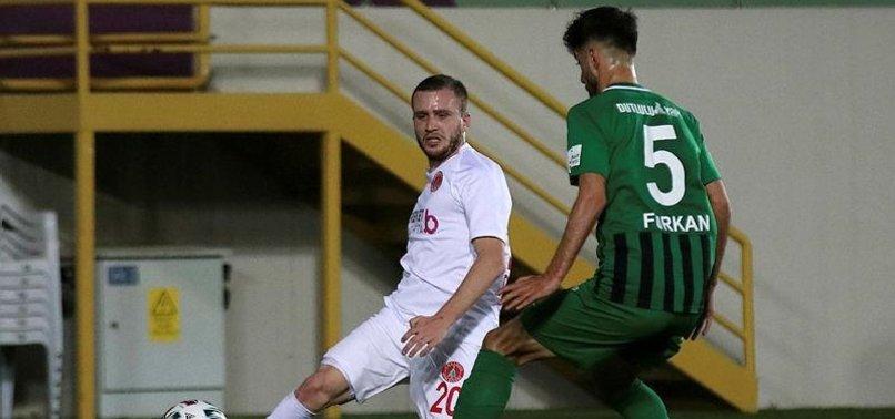 Akhisarspor 1-1 Ümraniyespor (MAÇ SONUCU-ÖZET)
