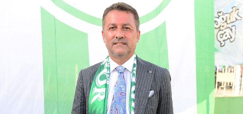 Giresunspor Başkanı Karaahmet maç sonunda konuştu! Bu şehir Süper Lig'e yakışacak