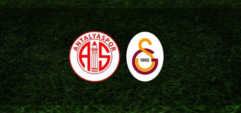 Antalyaspor - Galatasaray maçı ne zaman, saat kaçta ve hangi kanalda?   Süper Lig (Gs maçı)