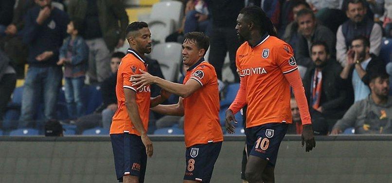 Başakşehir sahasında Kayserispor'u tek golle geçti