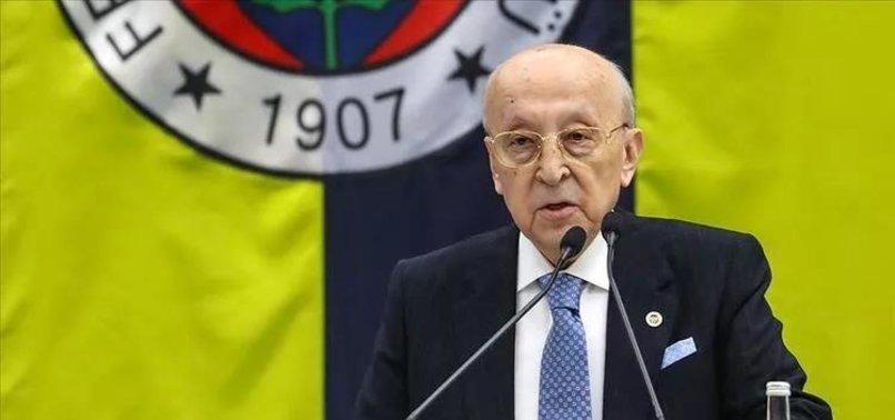 Fenerbahçe Kulübü Yüksek Divan Kurulu Başkanı Vefa Küçük'ten flaş sözler! Başkan adayları bana abone