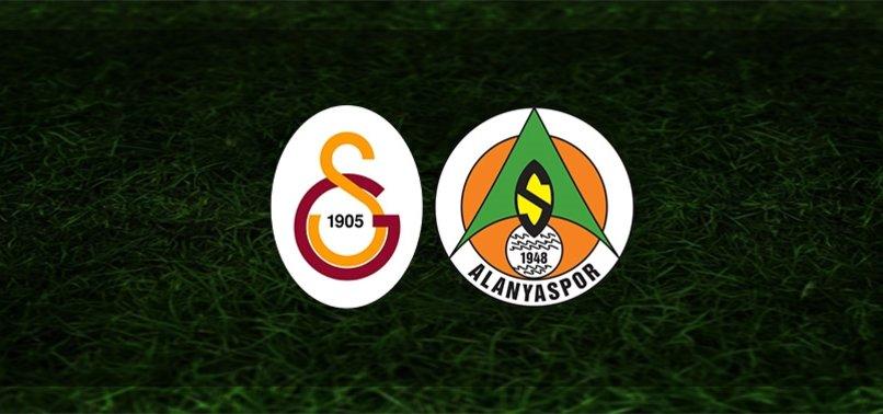 Galatasaray - Alanyaspor maçı | CANLI
