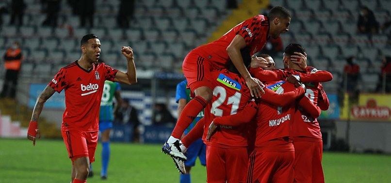 Çaykur Rizespor 2 - 3 Beşiktaş (MAÇ SONUCU - ÖZET)