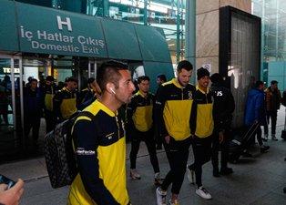 Fenerbahçe MKE Ankaragücü maçı için Ankara'ya geldi