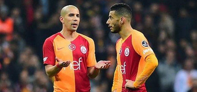Galatasaray'da gözler Feghouli ve Belhanda'da olacak