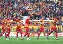 Kayserispor'un attığı gol net faul