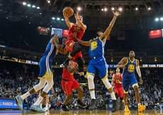 Golden State Warriors evinde galip