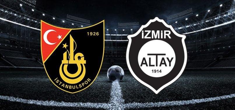 TFF 1. Lig'de İstanbulspor-Altay play-off rövanş maçı ne zaman? Saat kaçta ve hangi kanalda CANLI yayınlanacak?
