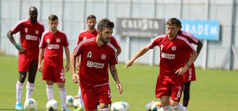 Sivasspor Gazişehir Gaziantep maçına hazır