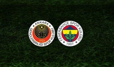 Gençlerbirliği - Fenerbahçe maçı saat kaçta ve hangi kanalda?