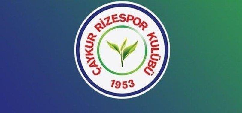 Çaykur Rizespor'da 3 futbolcu yeni tip corona virüsüne (Covid-19) yakalandı