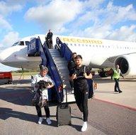 Beşiktaş, Malmö maçı için İsveçte