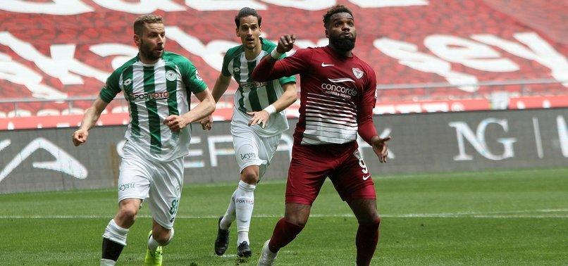 Konyaspor 0-0 Hatayspor (MAÇ SONUCU - ÖZET)