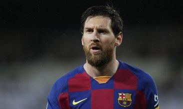 Messi'den takdir edilen hareket! Corona virüsü...