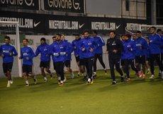 Trabzonsporda Yeni Malatyaspor maçı hazırlıkları devam ediyor
