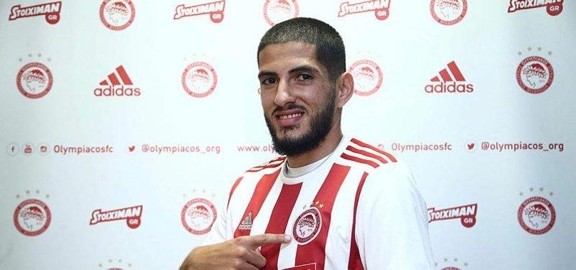 Yassine Benzia Olympiakos'ta