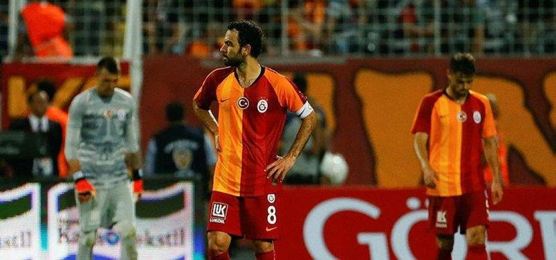 Galatasaray'da orta saha çöktü
