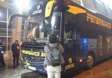 Fenerbahçe otobüs ile döndü