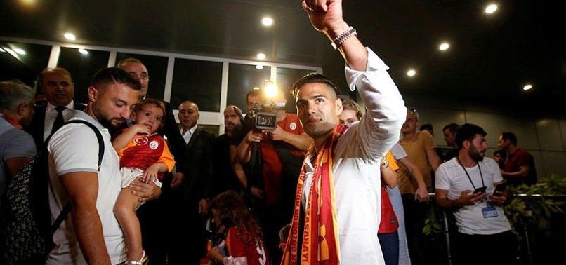 Falcao İstanbul'a geldi! İşte ilk görüntüler