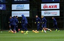 Fenerbahçe'de Konyaspor mesaisi tamamlandı