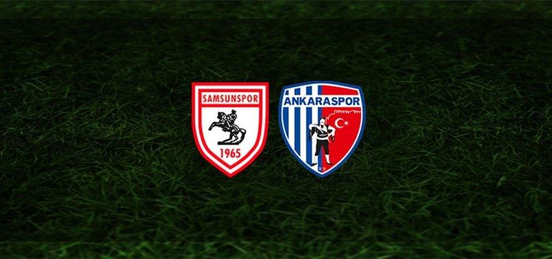 Samsunspor - Ankaraspor maçı ne zaman, saat kaçta ve hangi kanalda? | TFF 1. Lig