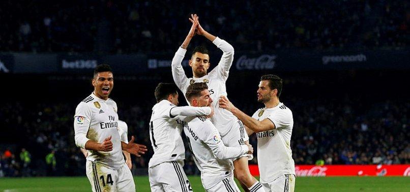 Real Madrid deplasmanda Betis'i yendi