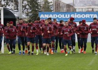 Trabzonspor'da Olcay Şahan idmana çıktı