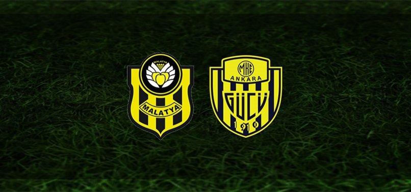 Yeni Malatyaspor - Ankaragücü maçı ne zaman, saat kaçta ve hangi kanalda? | Süper Lig