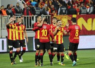Göztepe - Aytemiz Alanyaspor maçından kareler