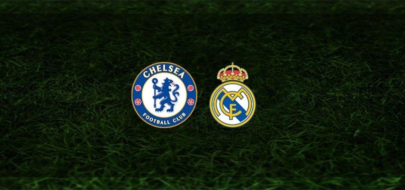 Chelsea - Real Madrid maçı ne zaman, saat kaçta ve hangi kanalda? | UEFA Şampiyonlar Ligi
