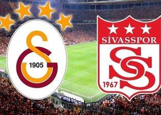 İşte Galatasaray-Sivasspor 11'leri