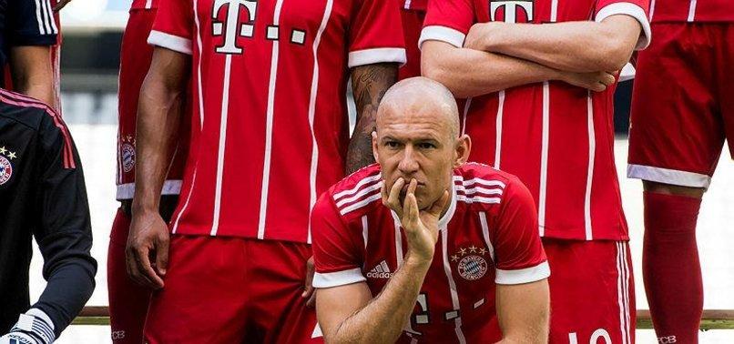 Bayernde Robben depremi!