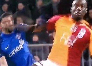 Diagne'nin pozisyonu kırmızı kart