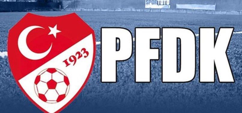 G.Saray ve Trabzonspor PFDK'ya sevk edildi