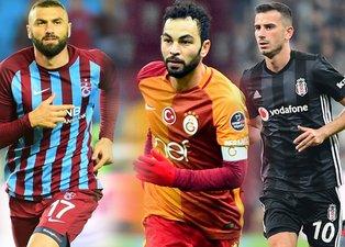 İşte 4 büyüklerde en çok kazanan yerli futbolcular