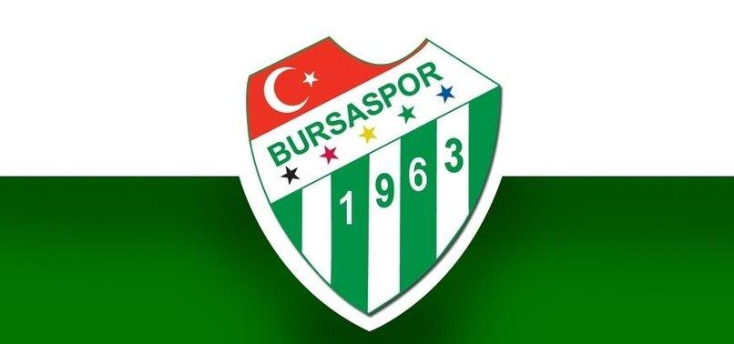 Bursaspor'dan şok açıklama!