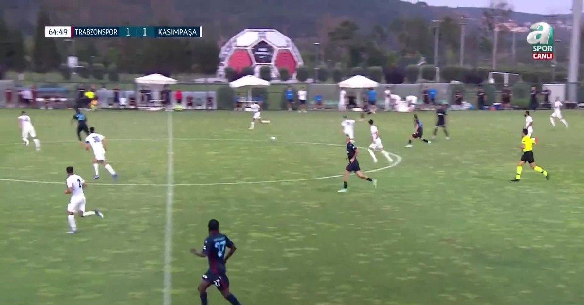 Trabzonspor 2 - 1 Kasımpaşa MAÇ ÖZETİ (Hazırlık Maçı)