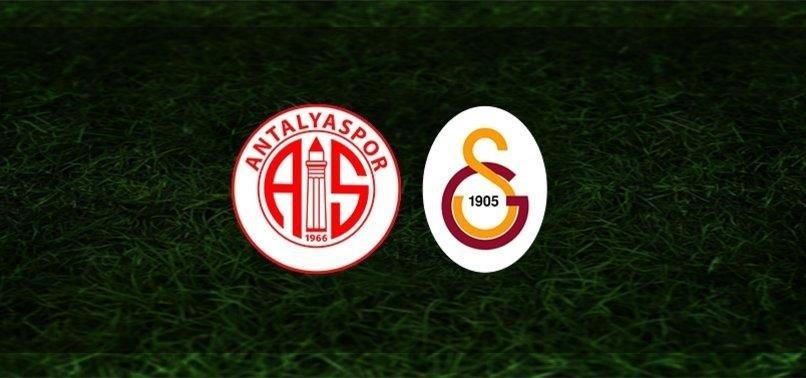 Antalyaspor-Galatasaray maçı ne zaman, saat kaçta? Hangi kanalda CANLI yayınlanacak? İşte muhtemel 11'ler