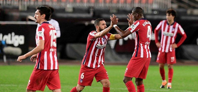 Valencia 0-1 Atletico Madrid (MAÇ SONUCU-ÖZET)