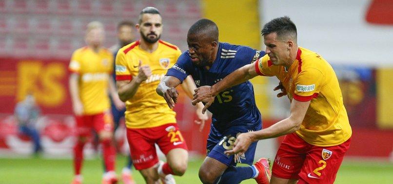 Kayserispor 1 - 2 Fenerbahçe (MAÇ SONUCU - ÖZET)