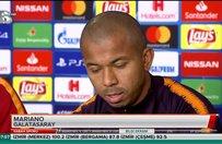 Mariano: Galatasaray her zaman Avrupada olmalı