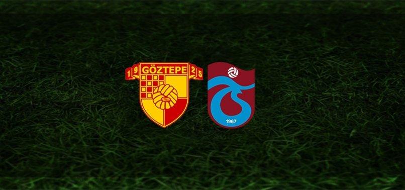 Göztepe - Trabzonspor maçı ne zaman, saat kaçta ve hangi kanalda? | Süper Lig