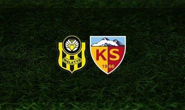 Yeni Malatyaspor - Kayserispor maçı saat kaçta ve hangi kanalda?