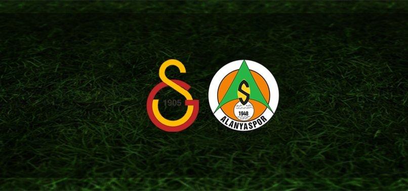 Alanyaspor-Galatasaray | İlk 11'ler belli oldu