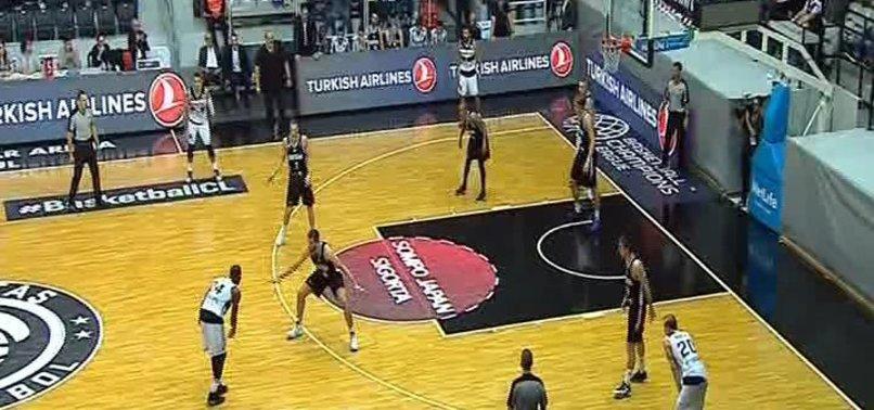 Beşiktaş Sompo Japan, Partizan'ı dağıttı