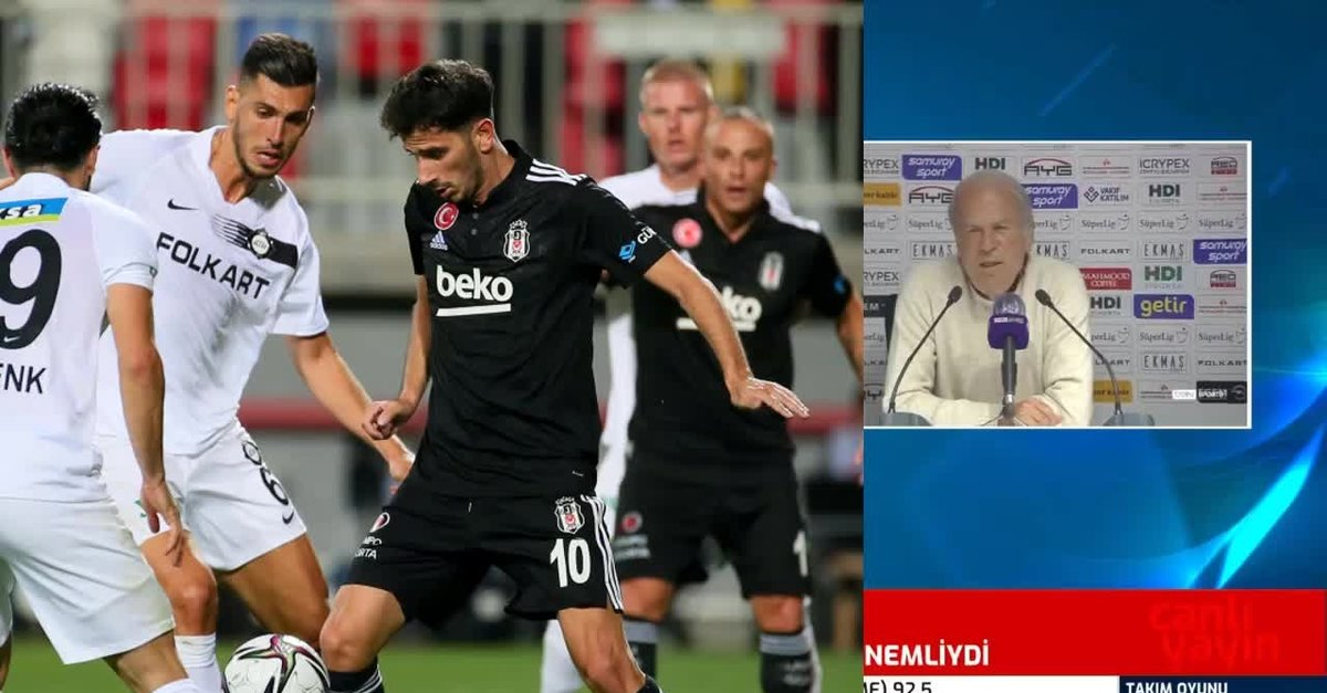 Mustafa Denizli Altay - Beşiktaş maçı sonrası konuştu